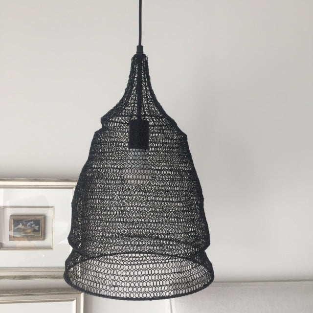 Mesh hanging light
