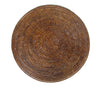Placemat rattan round Brown