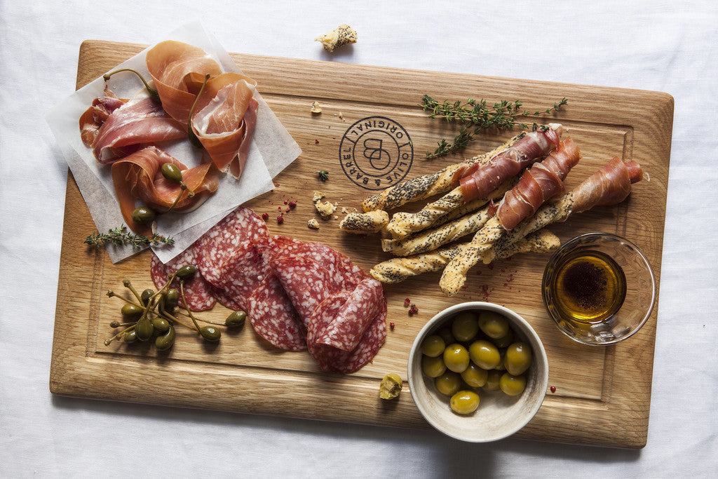 Olive & Barrel Fillet board