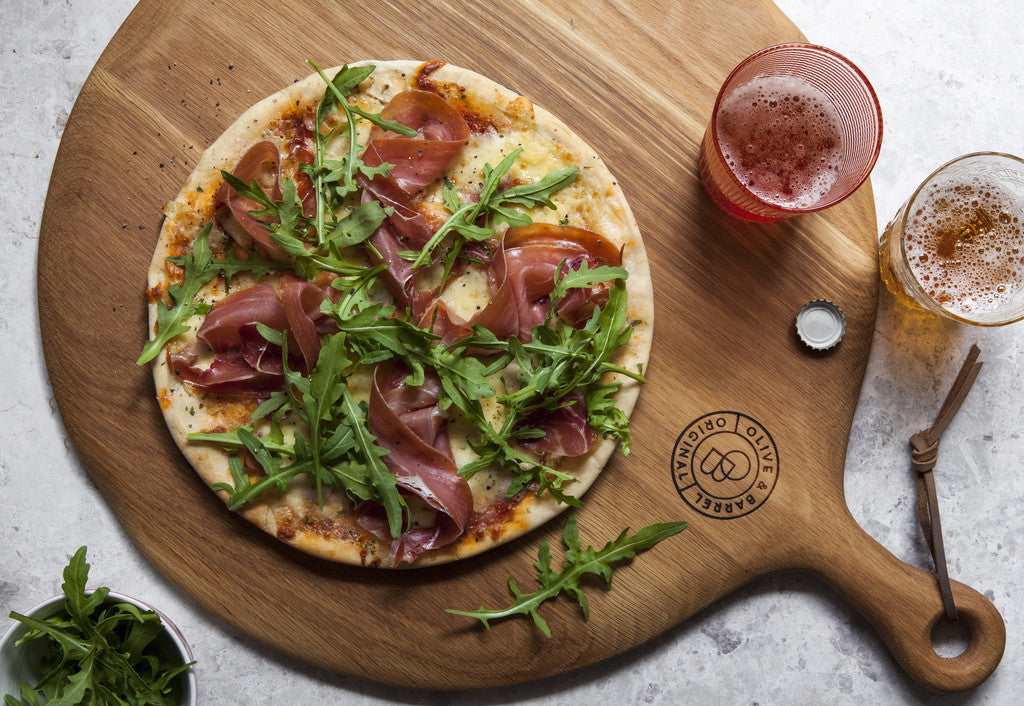 Olive & Barrel Pizza Paddle