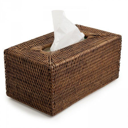 Tissue Box Rattan Rectangle OUT OF STOCK