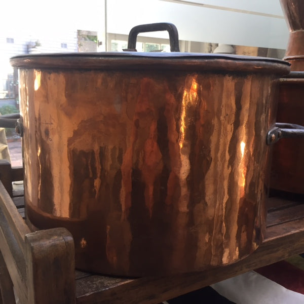 Copper cauldron XXL