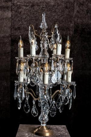 Chandelier table electric