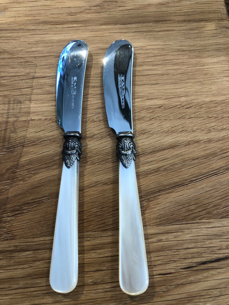 Italian pate knives set of 2