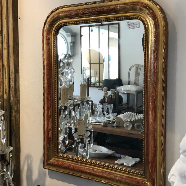 French salon mirror petite