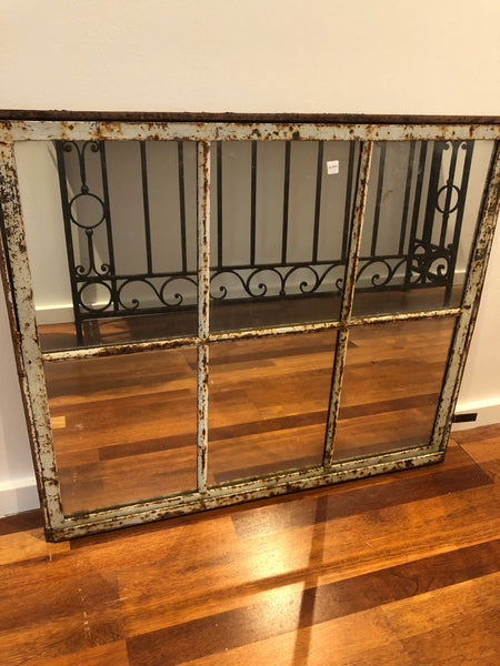 Mirror french cast iron