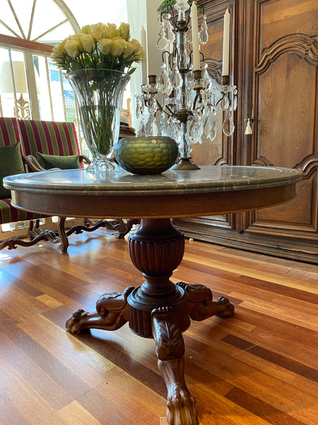 Centre French table 19th C SOLD