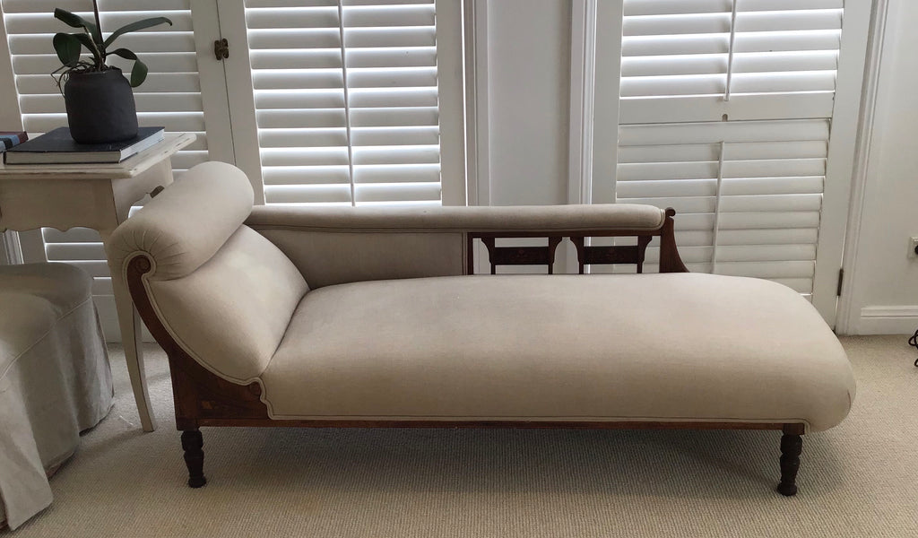 Victorian chaise lounge SOLD