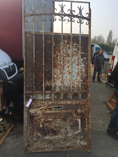 Gate french metal