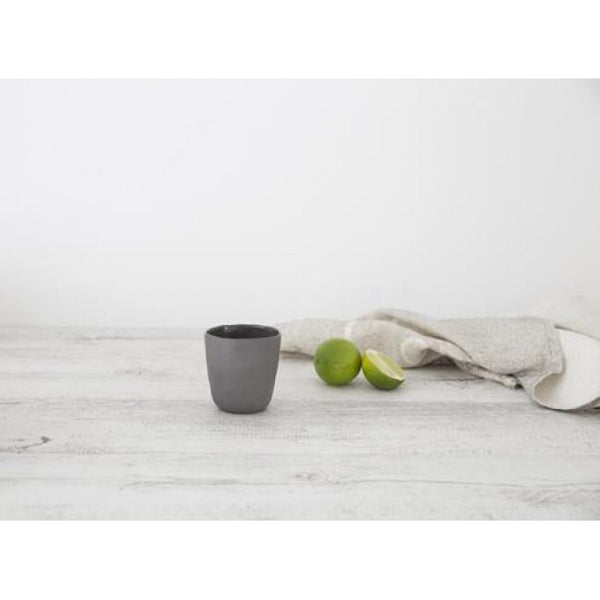 Ceramic short coffee cup set of 4