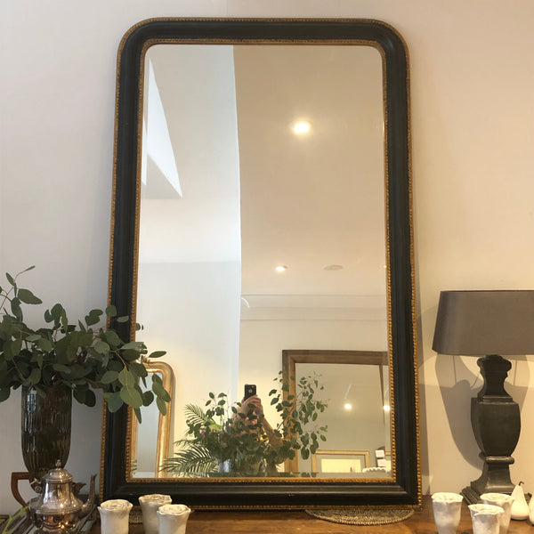 French antique salon mirror