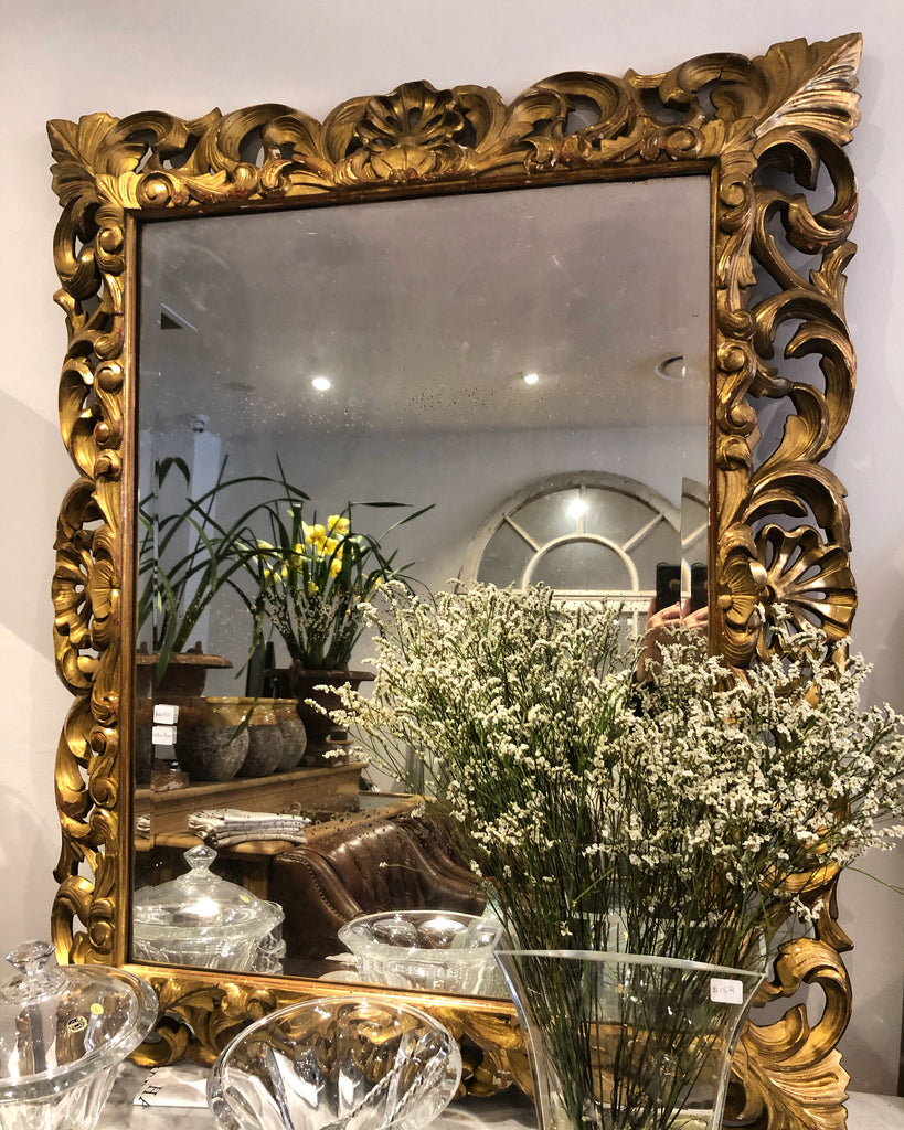 French baroque style mirror