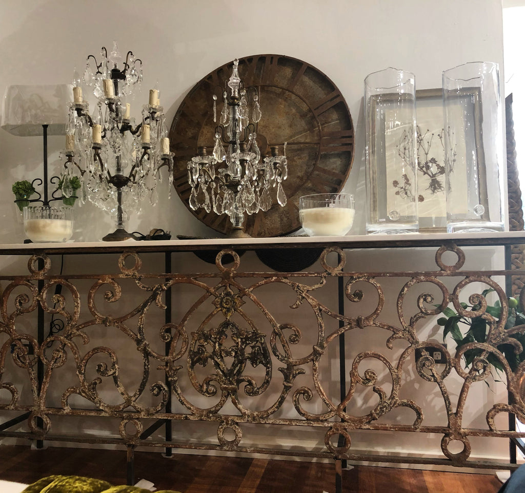 Console table French balustrade