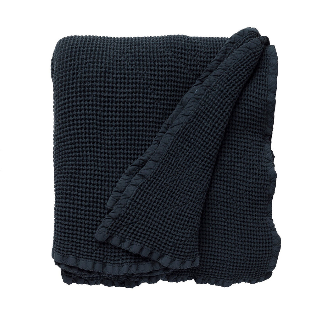 Throw/blanket navy