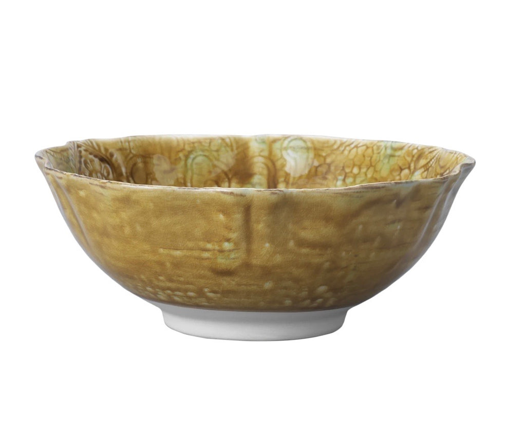 Ceramic curve salad bowl 26cm