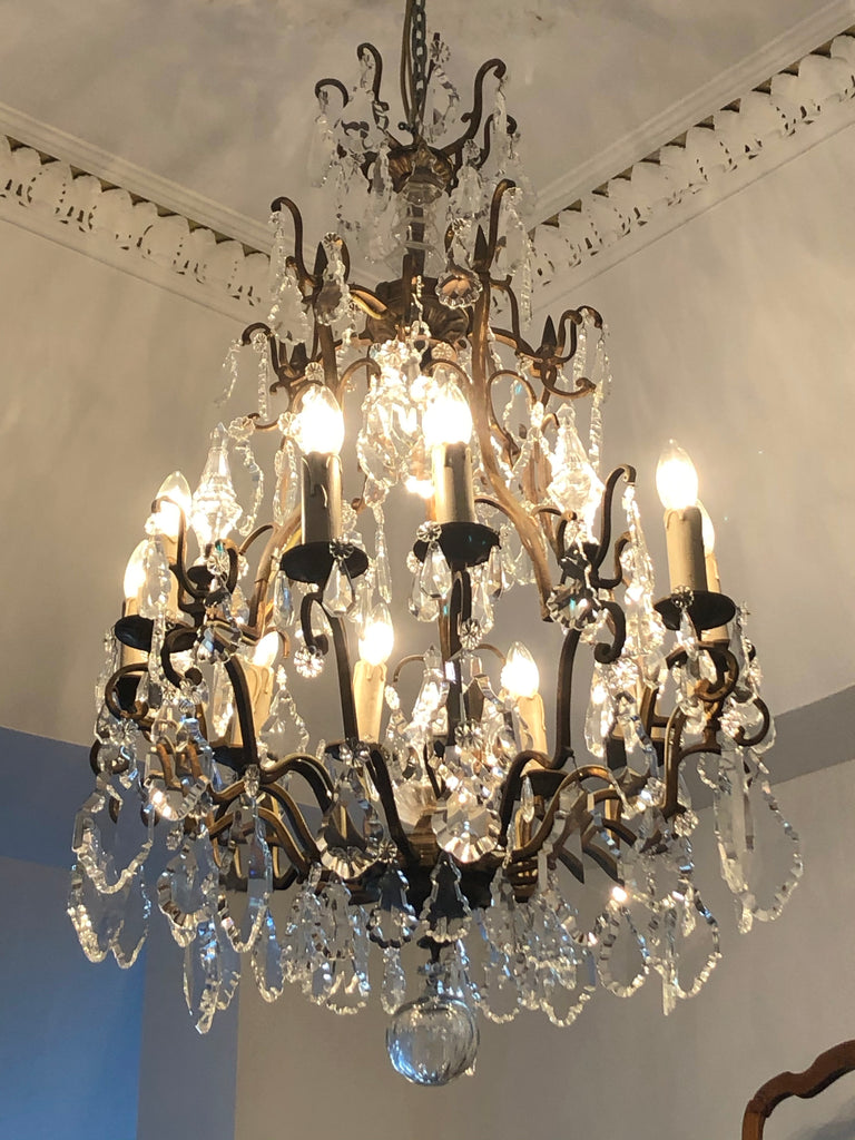 Chandelier ceiling 10 arm