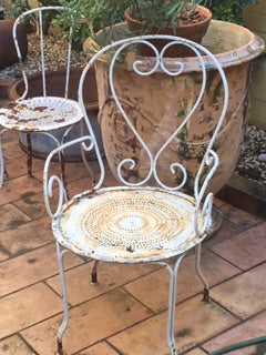 Garden armchair french