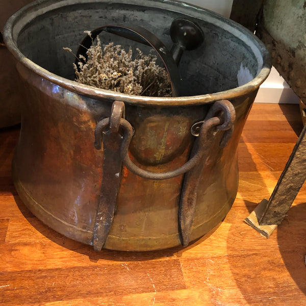 Copper cauldron XXXL