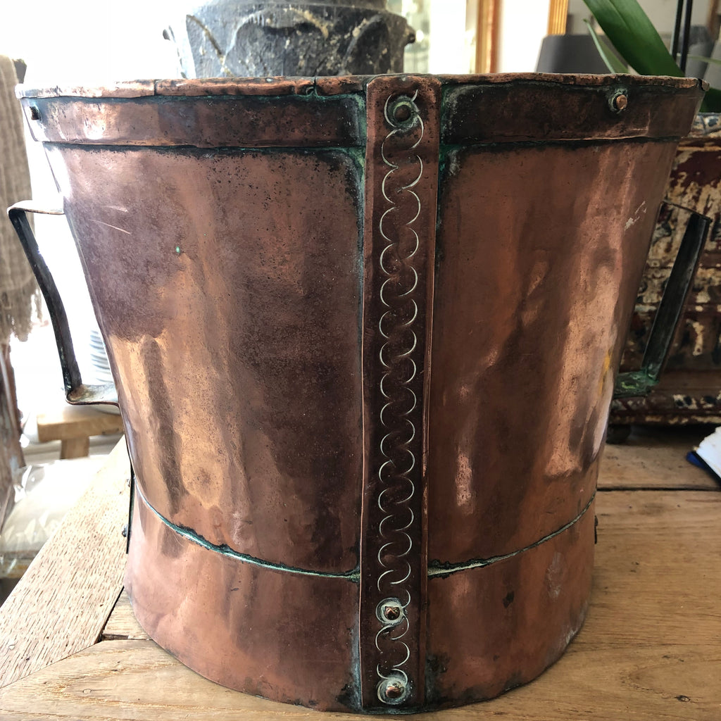 French copper water pot SOLD