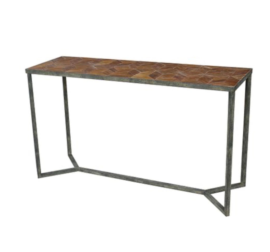 Console table Parquetry top