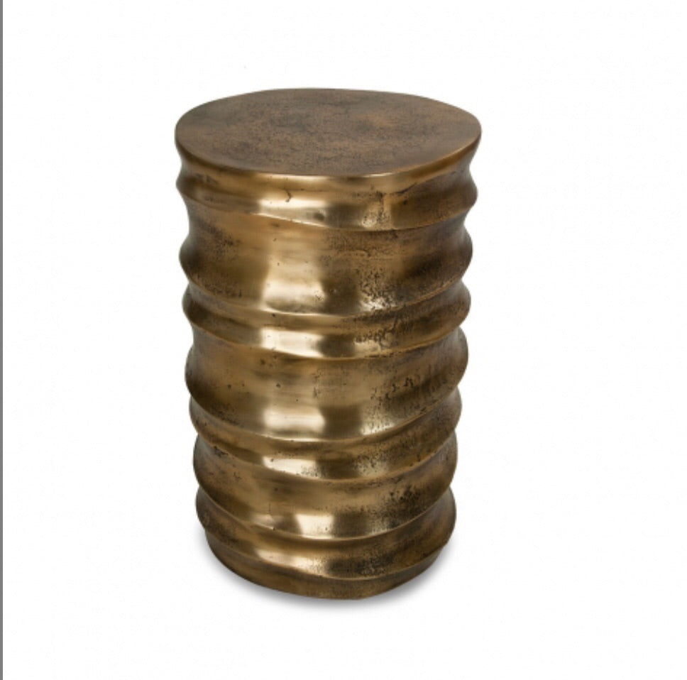 Stool table brass