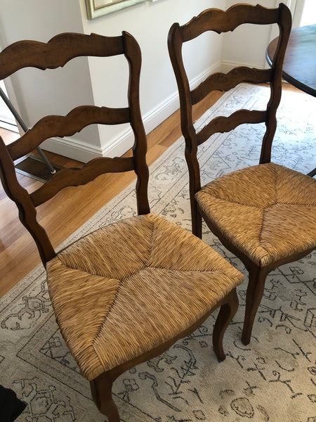 Chair Ladder back set of 6