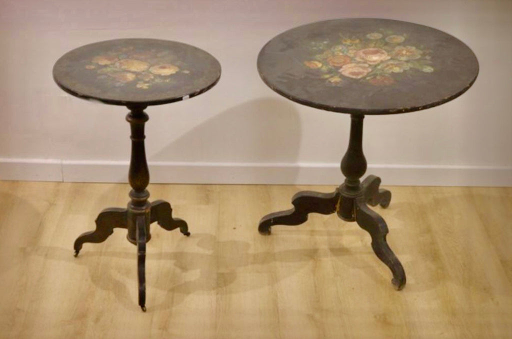 ARRIVAL APRIL 2021 -Tables pair 19thC