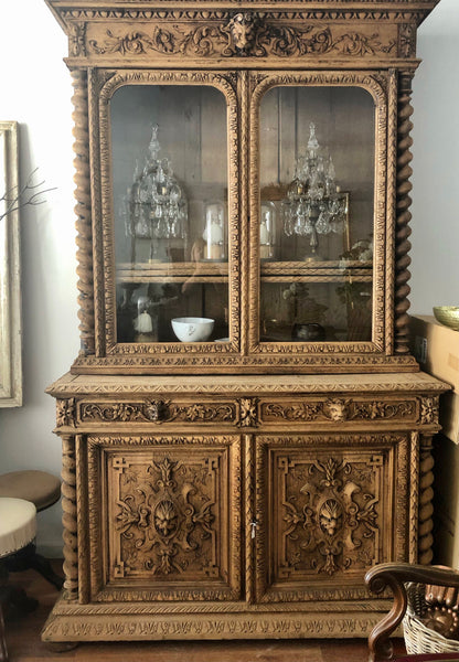 French cabinet glass doors