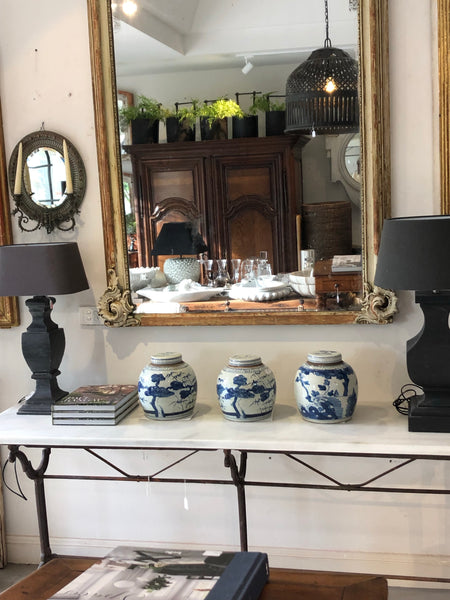 Console table marble top SOLD