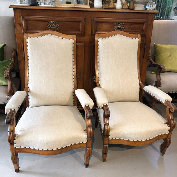 Chair French pair
