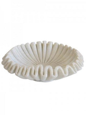Marble Bowl pleated medium