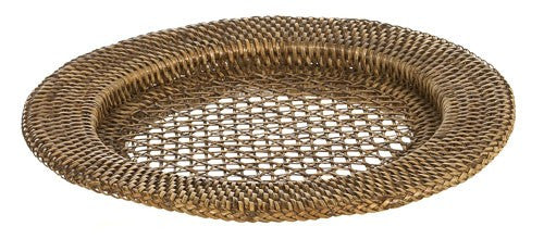 Placemat Underplate rattan brown