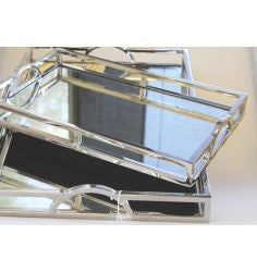 Tray mirror rectangle