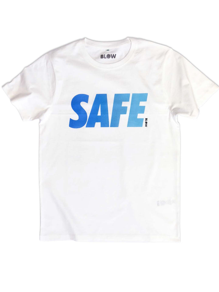 SAFE (B) - Unisex premium short sleeve t-shirt - BLOW London
