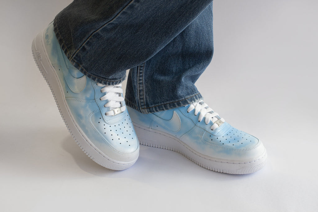 CLOUD 9 - Customised Nike Air Force 1 Low - BLOW London
