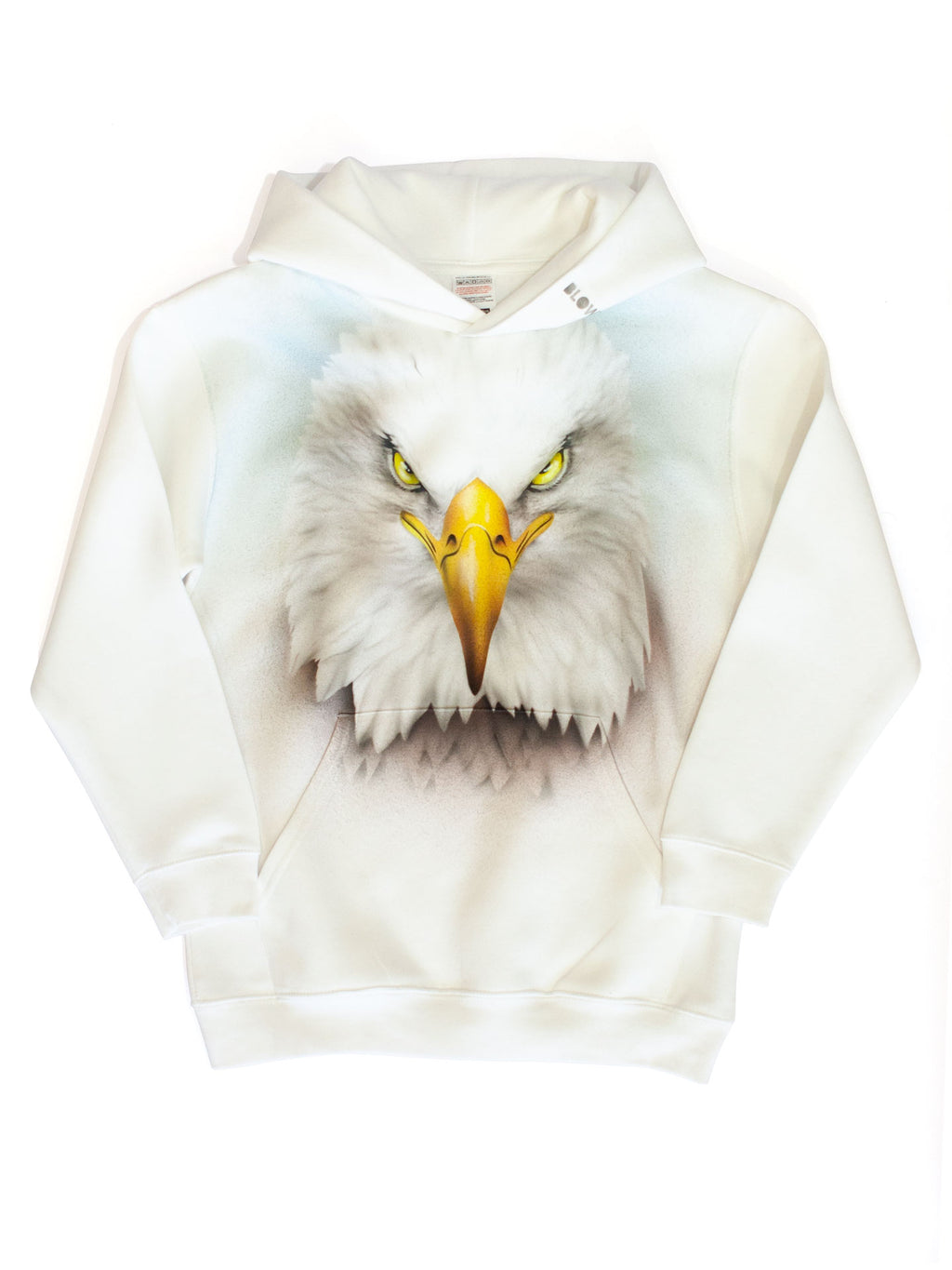 BIRD OF PREY - Kids premium hoodie with front pouch pocket