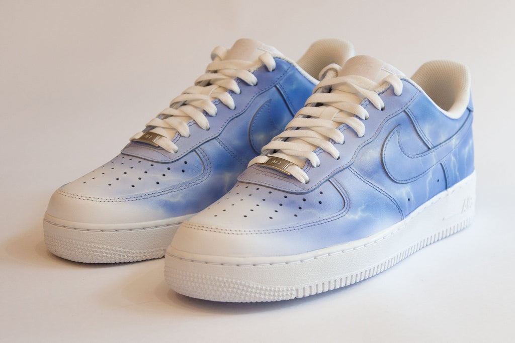 ELECTRIC STORM (Light) - Customised Nike Air Force 1 Low - BLOW London