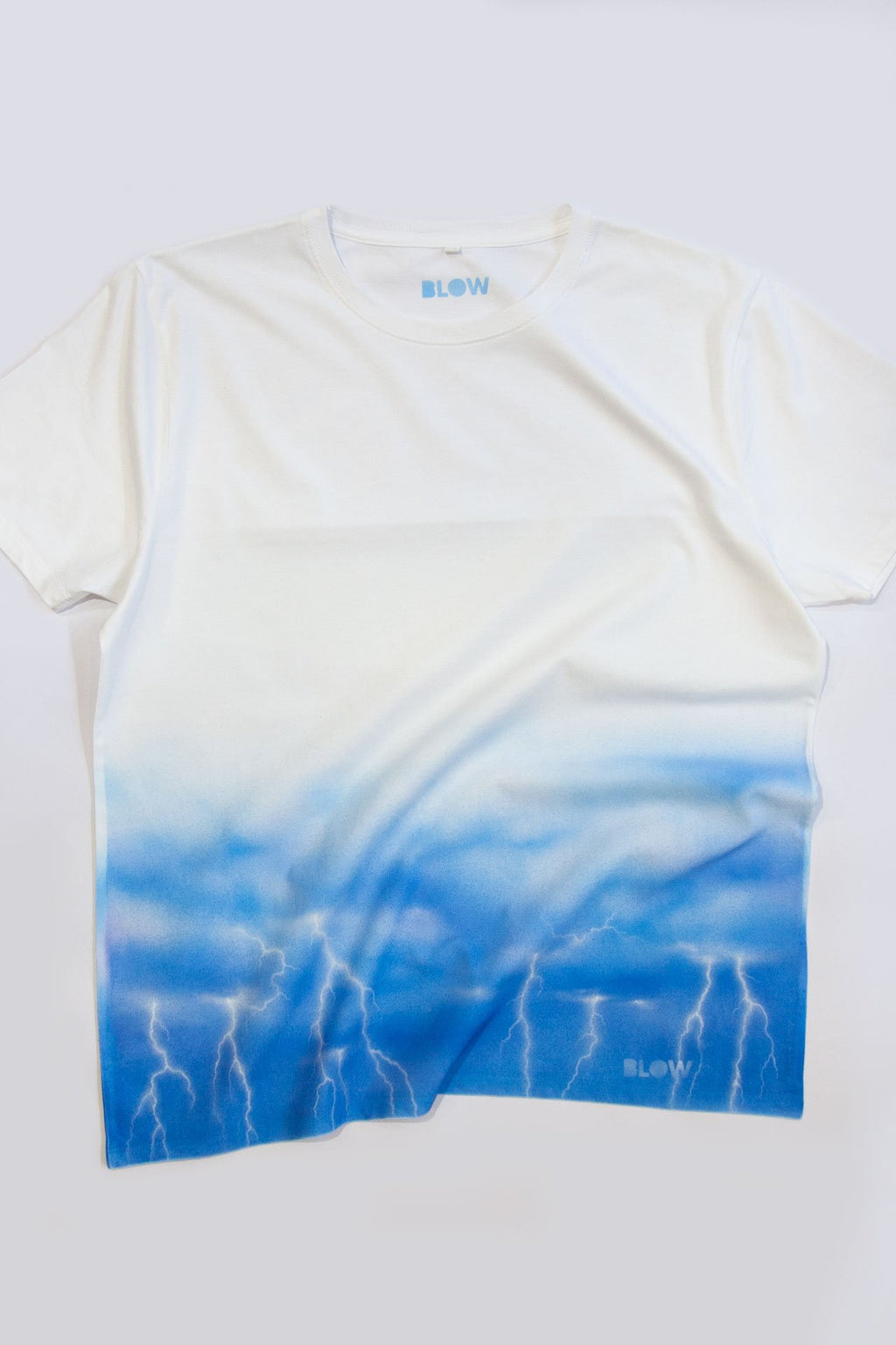 ELECTRIC STORM (White) - Unisex premium short sleeve t-shirt