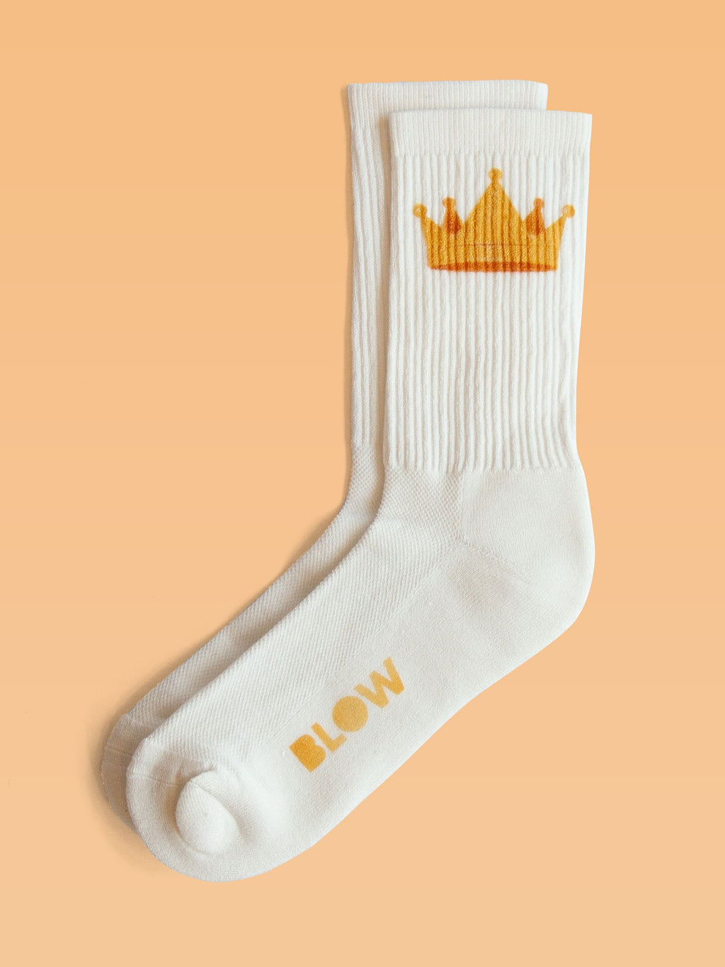 THE KING - Organic cotton crew socks with bamboo - BLOW London