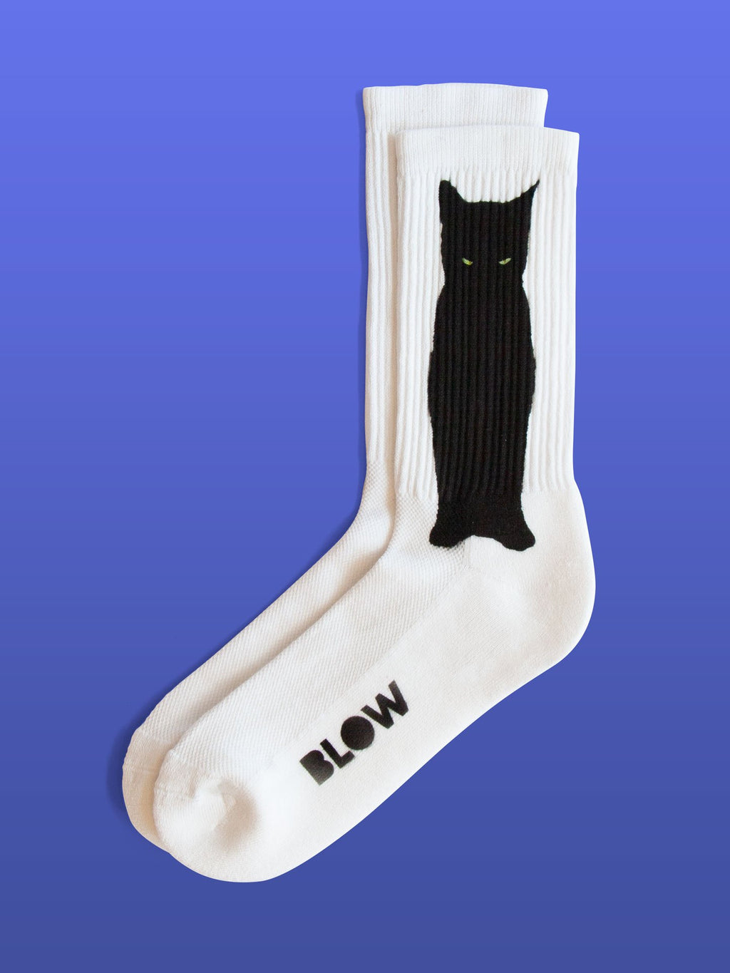 LAILA - Organic cotton crew socks with bamboo - BLOW London
