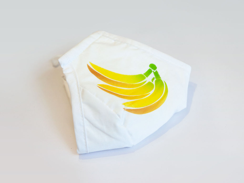 BANANAS - Protective 3 Layer Fabric Mask