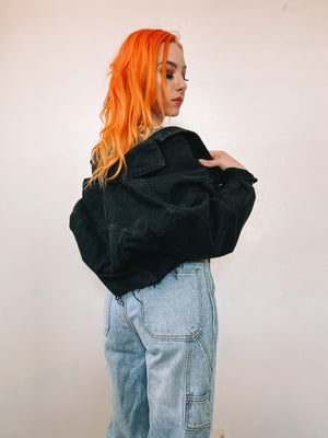 90's baby denim jacket