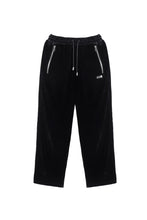 Load image into Gallery viewer, TEAM WANG DRAWSTRING VELVET STRAIGHT PANT