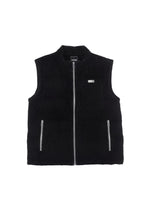 Load image into Gallery viewer, TEAM WANG PRINTED LOGO VELVET DOWN VEST