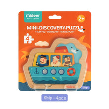 Load image into Gallery viewer, MiDeer 5pcs Puzzles Wood Cognitive Traffic Puzzle