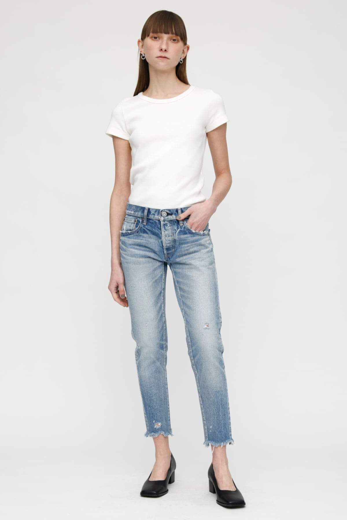 Moussy - MV Keller Tapered Light Blue-Denim-Uniquities