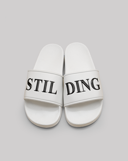 Stilding Badeslipper White