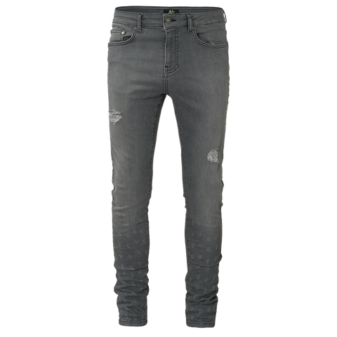 Malelions Jeans Damaged Grey