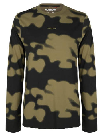 ONCE WE WERE WARRIORS - Longsleeve Camo Olive