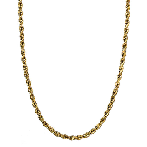 Croyez Kette - Rope Chain - Gold